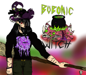 Black Death The Bubonic Witch by VampireDragon090