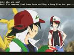Ash VS Red