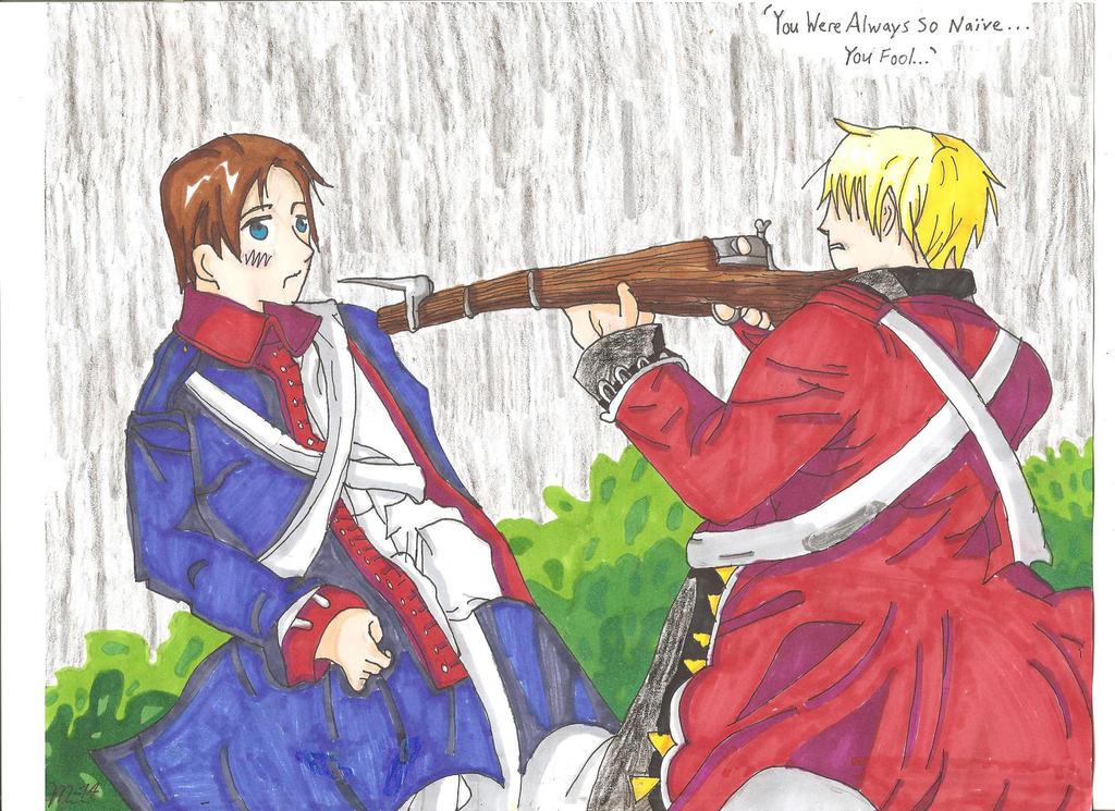 Hetalia American Revolution Hetalia America...