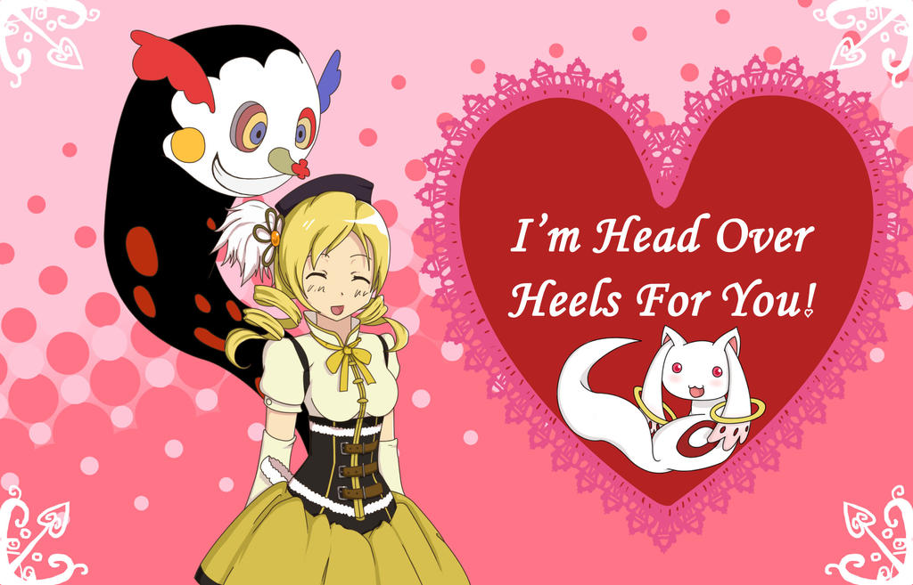 Mami Valentines day card by EvilScribbles on DeviantArt – Anime Valentines Day Card