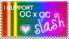 I support OC slash - STAMP by sJ-eP