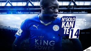 N'Golo Kante ( Leicester City ) Wallpaper