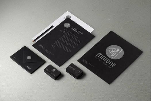 Maione corporate identity