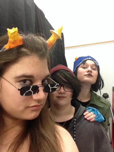 Equius selfie! by dark-wing2