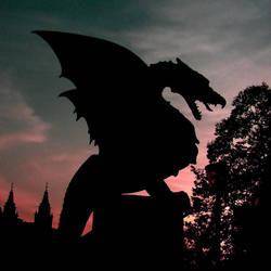Ljubljana's Dragons by T1sup
