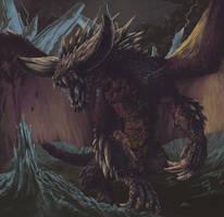 Nergigante - Monster Hunter World by Duhrakos