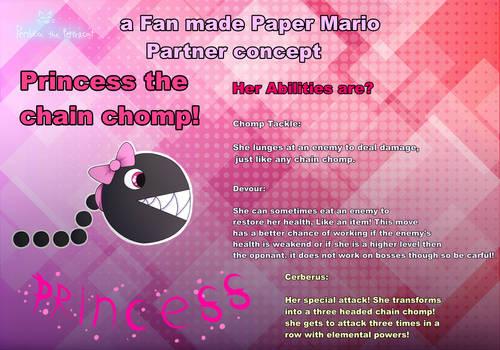 Princess the chain chomp reference sheet