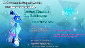 Lacuna Kampos the Seadragon reference sheet