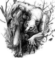 Werewolf by GreenAirplane