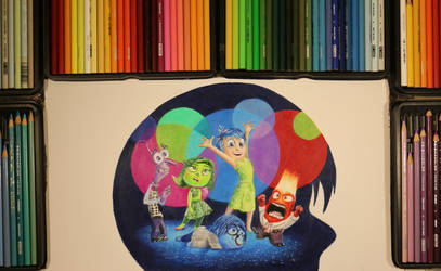 Drawing INSIDE OUT from the Inside Out!