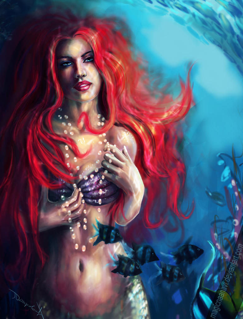 Ariel - The Little Mermaid by MagicnaAnavi