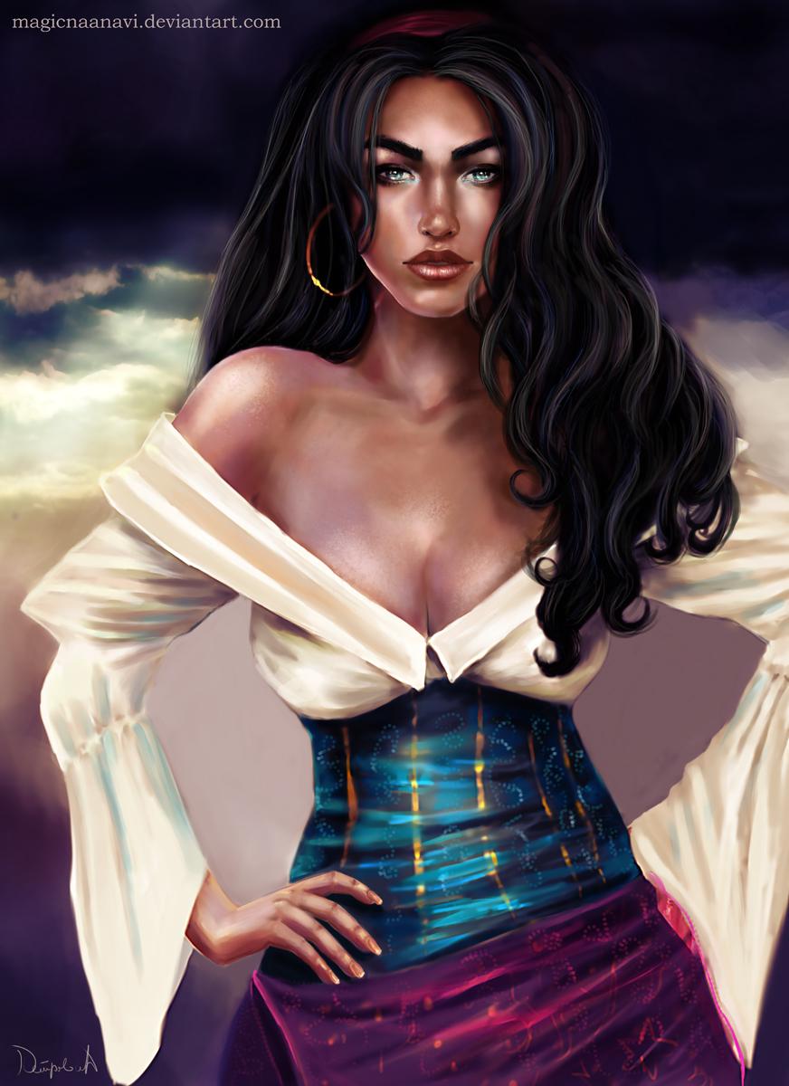 Esmeralda - The Hunchback of Notre Dame by MagicnaAnavi
