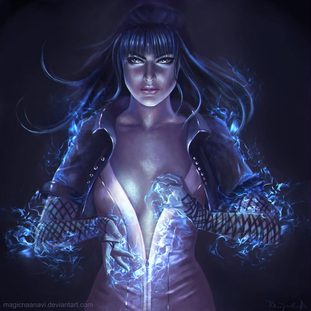Zatanna by MagicnaAnavi