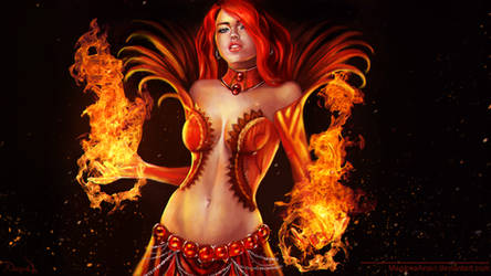 Guild Wars 2 Elementalist Diva by MagicnaAnavi
