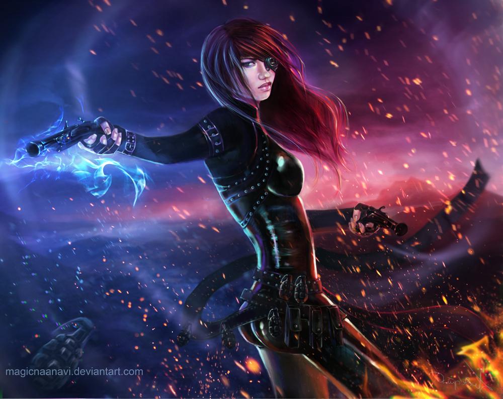 Guild Wars 2 Engineer Diva by MagicnaAnavi