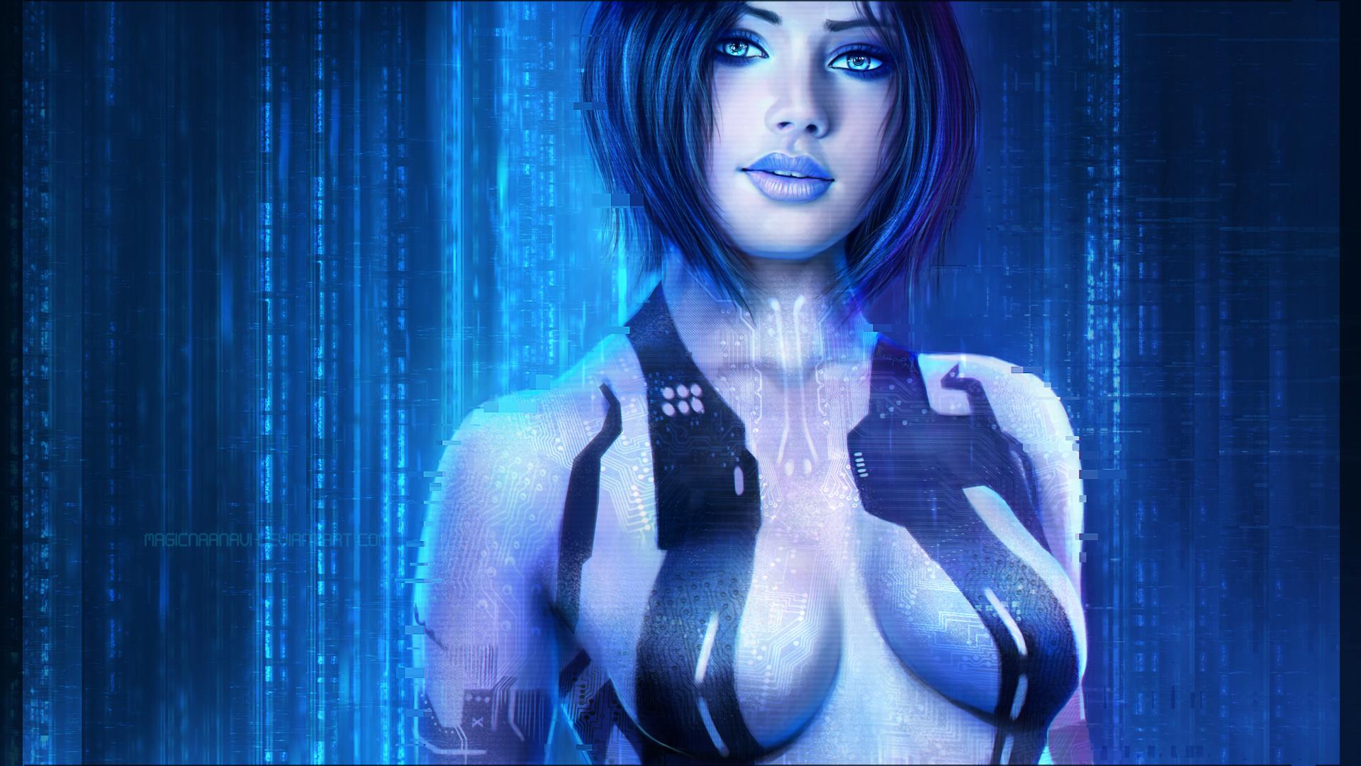 Cortana by MagicnaAnavi