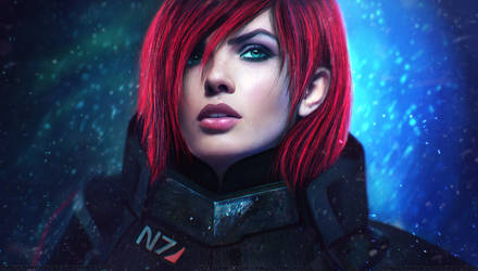 Commander Shepard by MagicnaAnavi