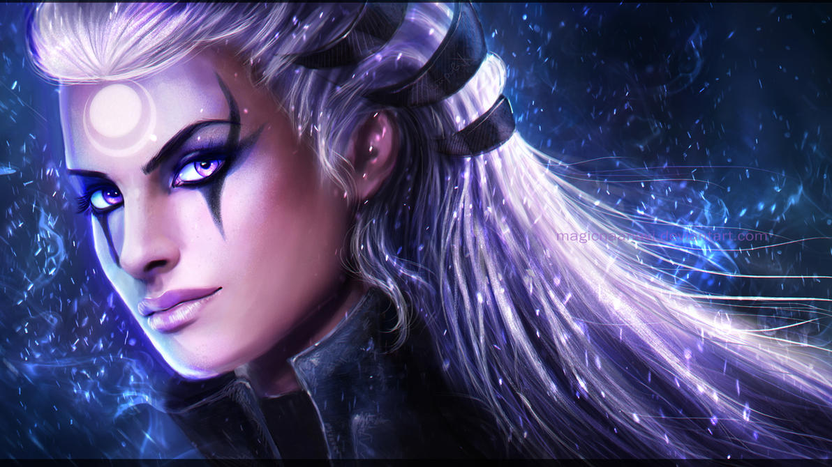 Diana - League of legends by MagicnaAnavi