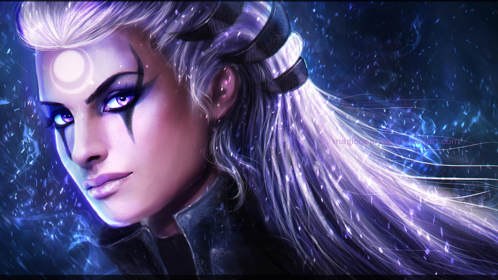 Diana League Of Legends By Magicnaanavi On Deviantart