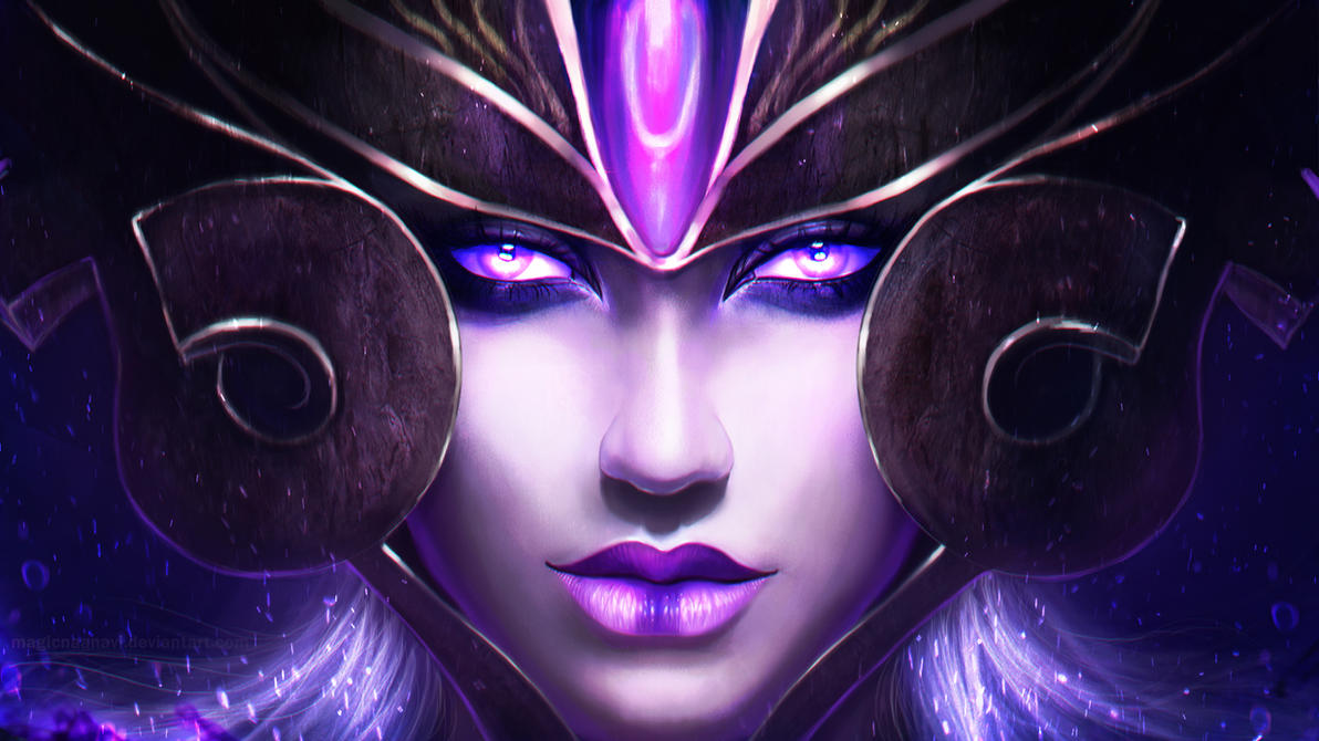syndra the dark sovereign by magicnaanavi on deviantart