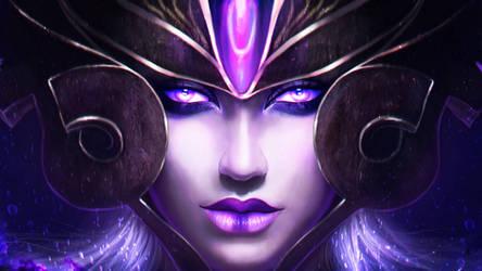 Syndra - the Dark Sovereign by MagicnaAnavi