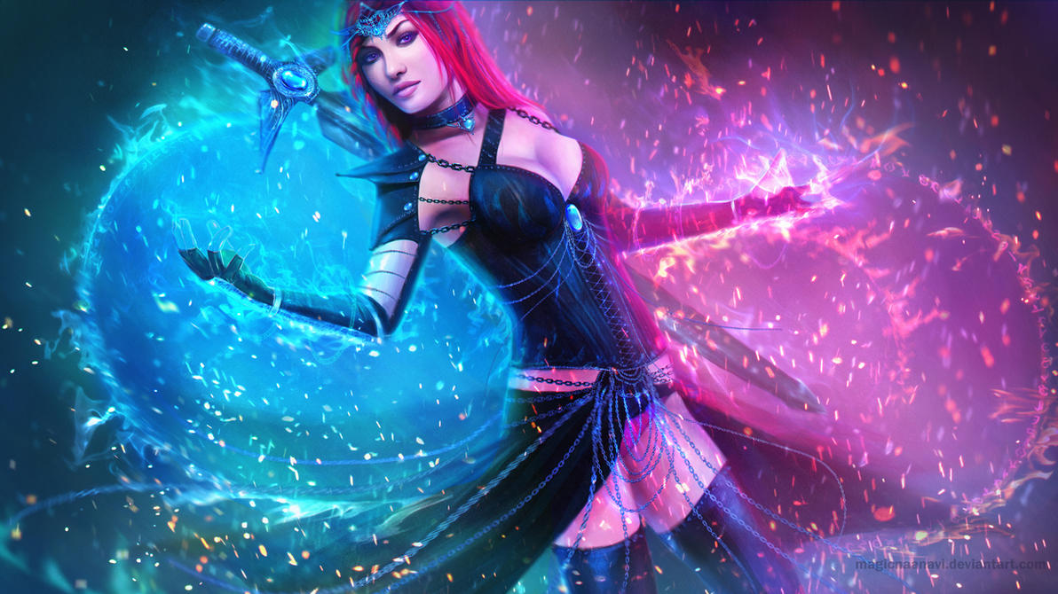 Serina Spiritweaver by MagicnaAnavi