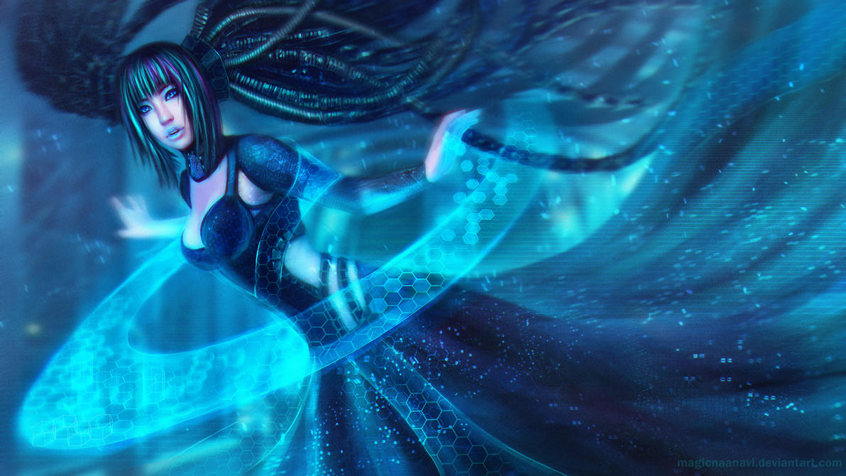 Cyber Sona - League of Legends by MagicnaAnavi