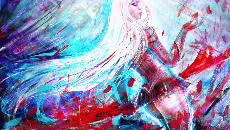 Heartseeker Ashe  by MagicnaAnavi