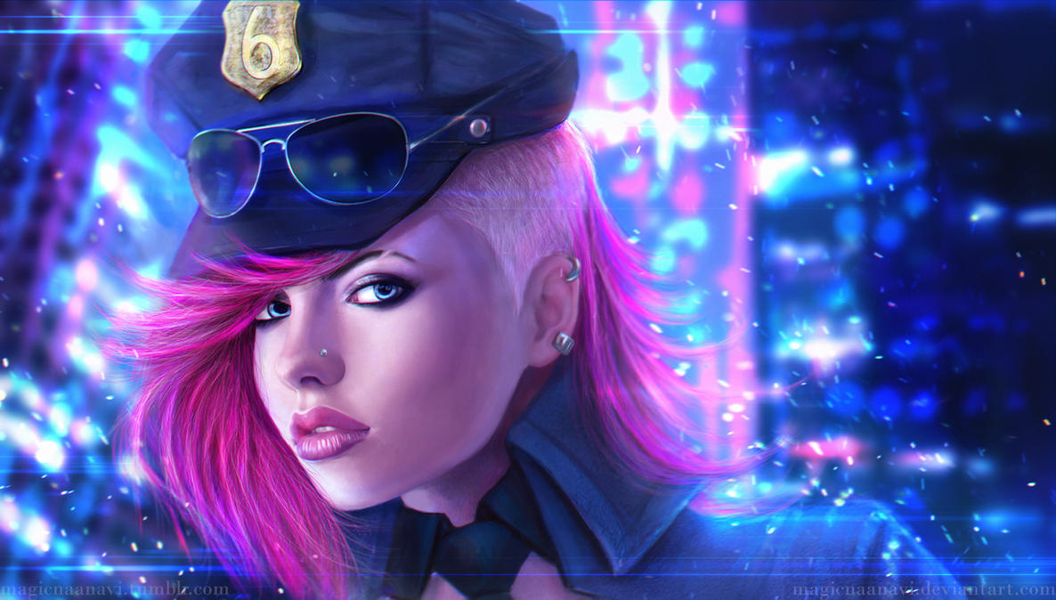 Officer Vi by MagicnaAnavi