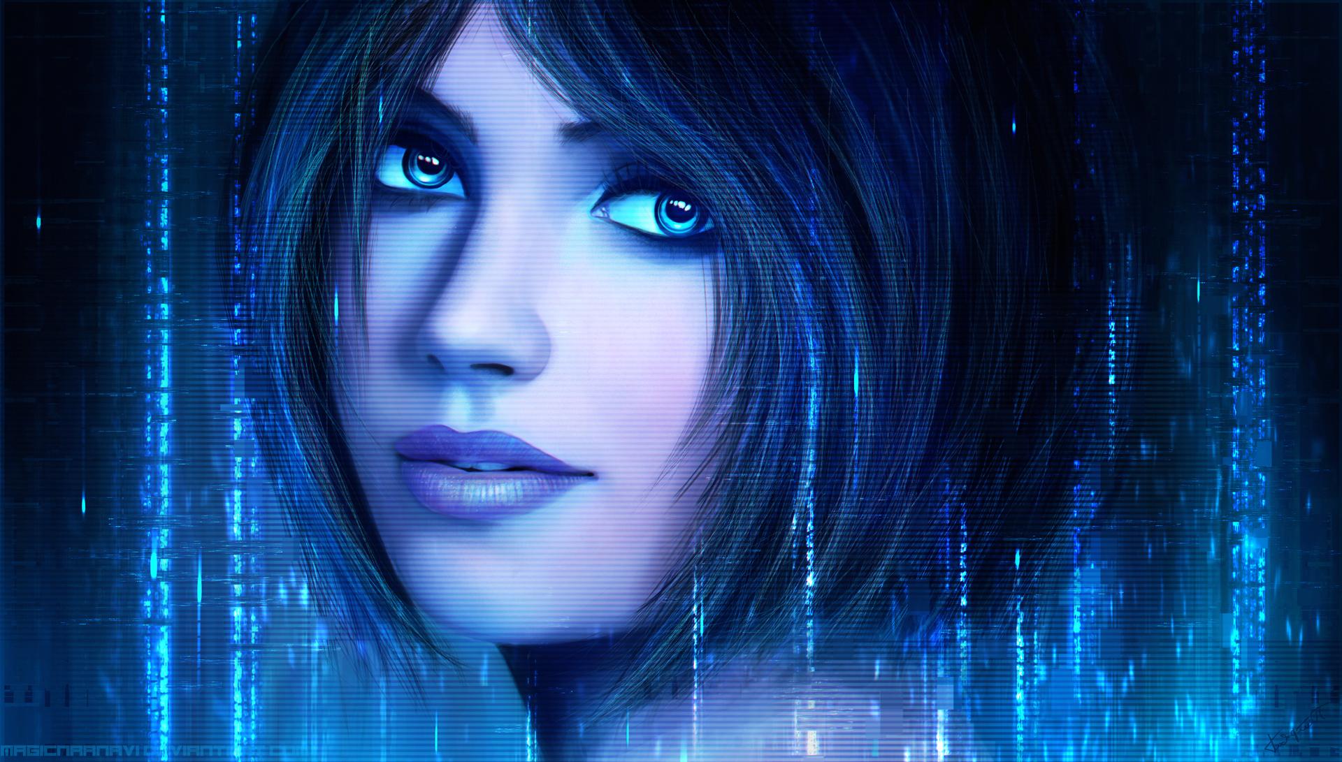 Cortana by magicnaanavi on deviantart