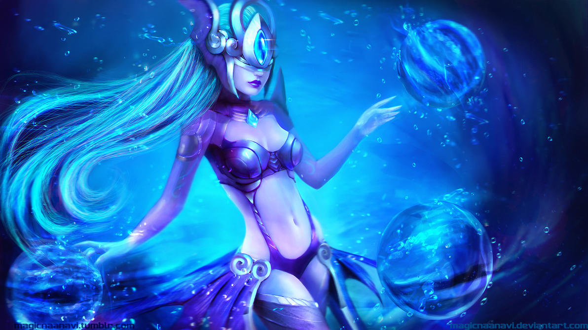 Atlantean Syndra by MagicnaAnavi