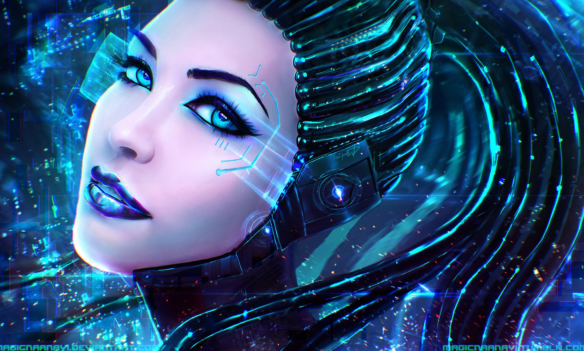 Cyber art érotique