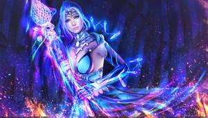Elementalist - Armageddon Lord by MagicnaAnavi