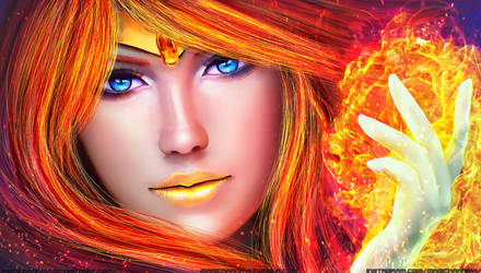 Sailor Phoenix by MagicnaAnavi