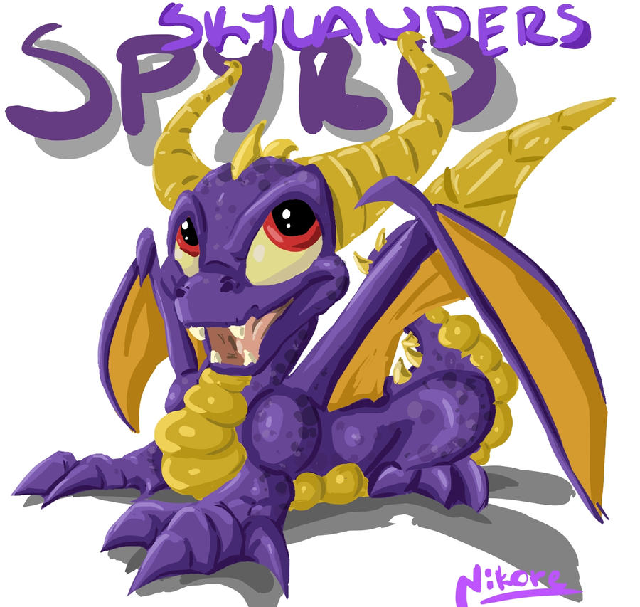Skylanders Spyro by NikoreROXdaHOWS