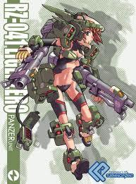 Liger zero girl panzer by narutosdad