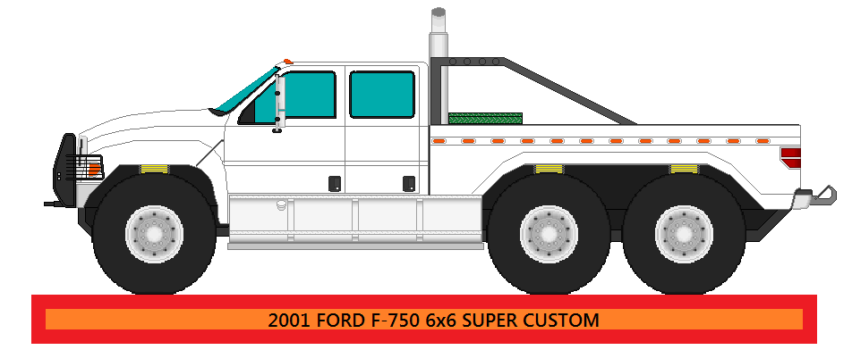 2008 Ford F750 4X4 750/2000 (T0840) - YouTube