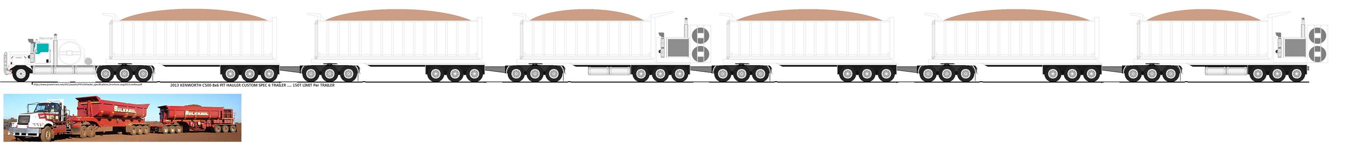 2013 Kenworth C500 Pit hauler by narutosdad