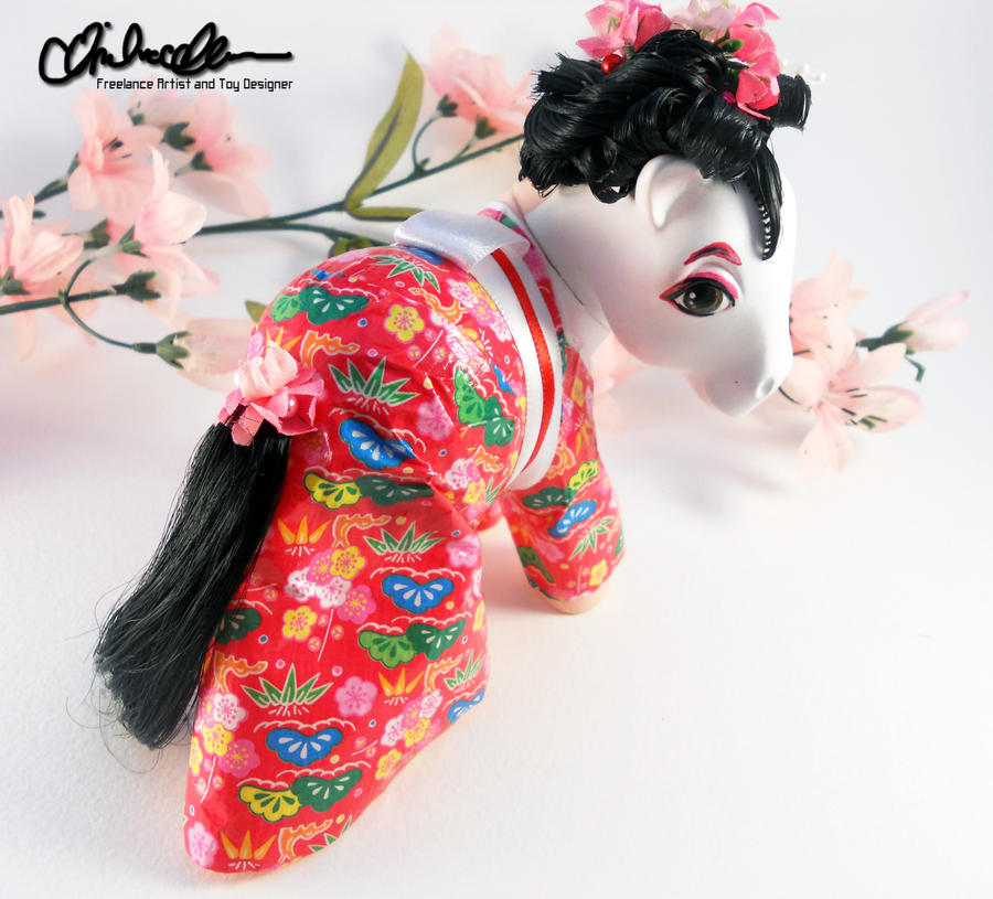 Masuyo the Geisha Custom MLP by thatg33kgirl