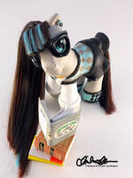 Pensive- Custom My Little Pony by thatg33kgirl