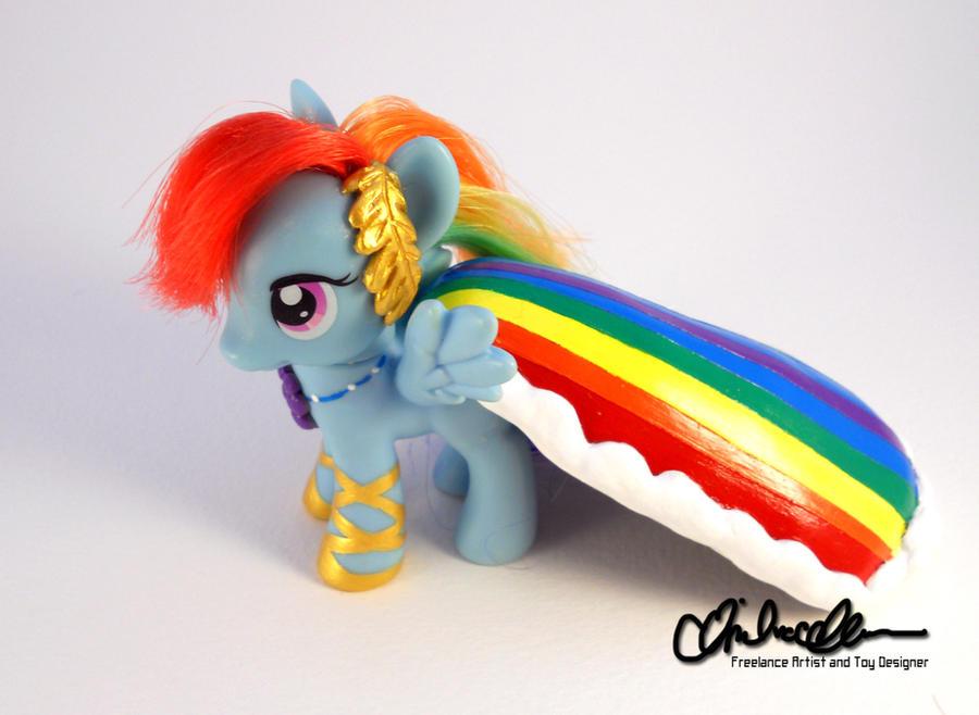 Suited for Success Rainbow Dash custom MLP