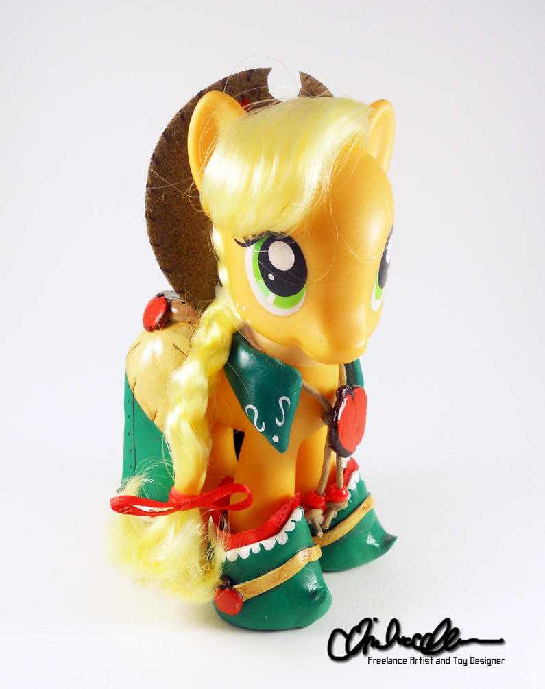 Gala Applejack Custom Styling MLP by thatg33kgirl