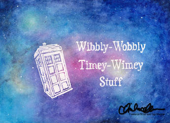 Wibbly-Wobbly Watercolor by thatg33kgirl