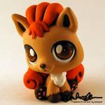 Vulpix custom Littlest Pet Shop