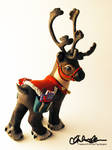 Prancer the Reindeer Custom MLP