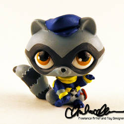 Sly Cooper custom LPS by thatg33kgirl