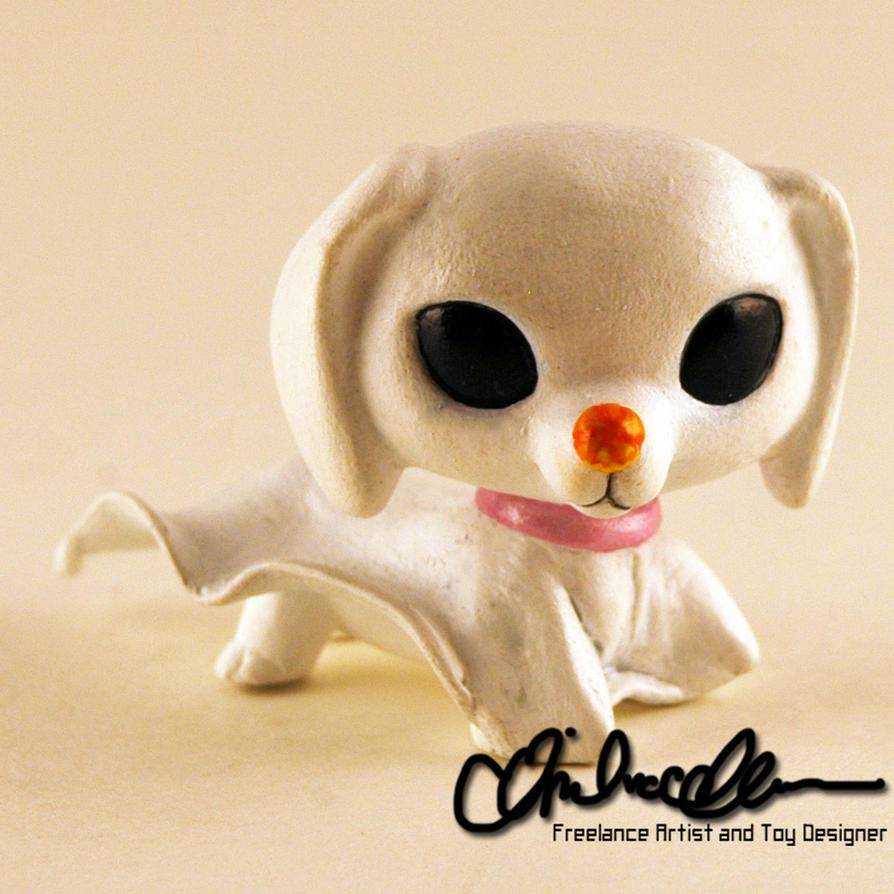 Zero from Nightmare Before Christmas custom LPS by thatg33kgirl on ...