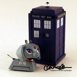 K-9 from Doctor Who custom LPS