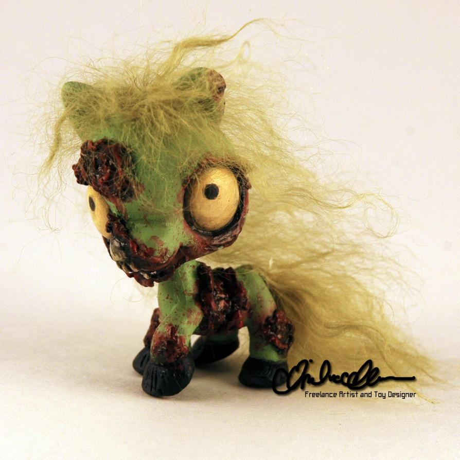 Littlest Zombie Pony Custom LPS By Thatg33kgirl On DeviantArt