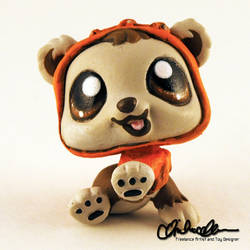 Wickett the Ewok custom LPS by thatg33kgirl